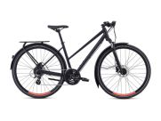 SPECIALIZED CROSSTRAIL EQ STEPTHROUGH BLACK TOP DAM CYKEL 2019 ÅRS MODELL